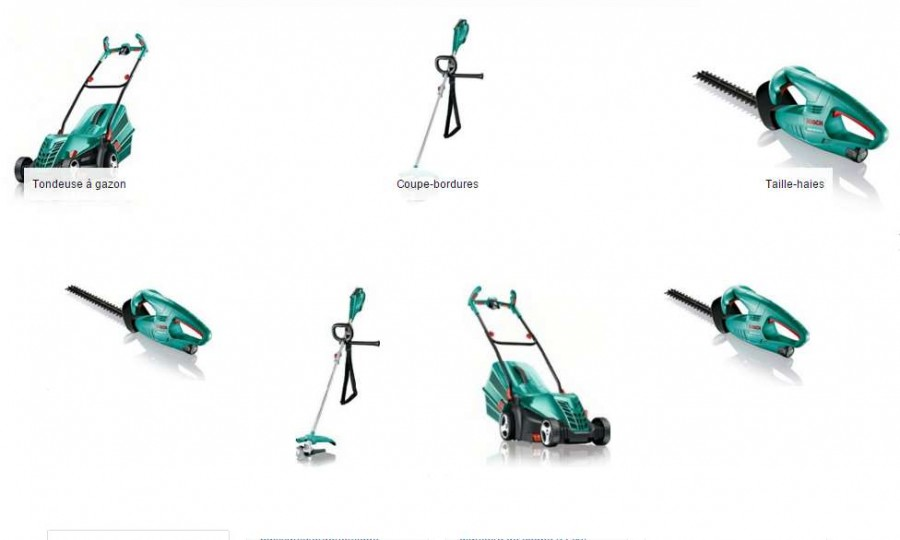 Offre spéciale outils de jardin Bosch