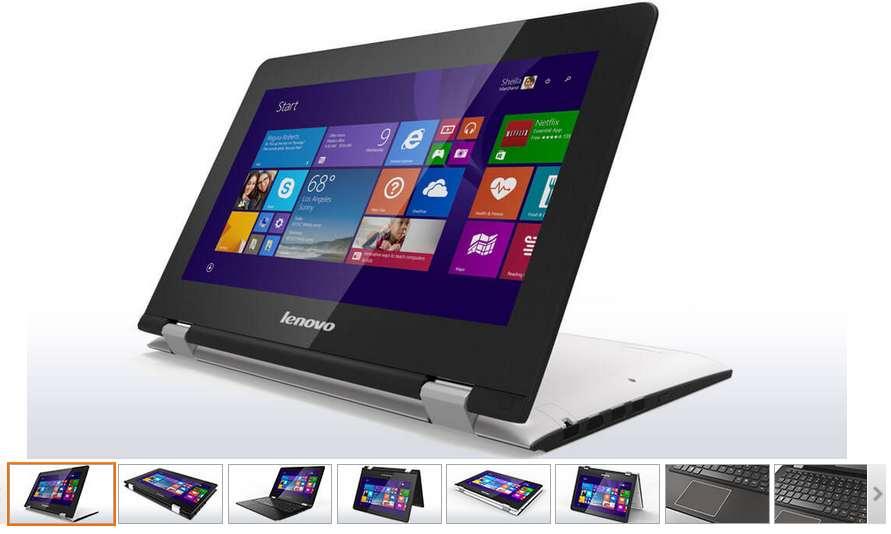 Portable Hybride Lenovo Yoga 300 à 279€
