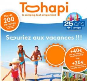 Vente flash vacances en Mobil-home d'une semaine Carrefour Voyages