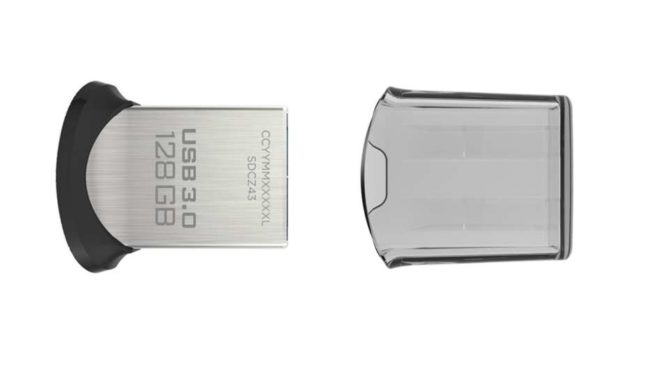 clé USB 128 Go SanDisk Ultra Fit 3.0 150 Mos
