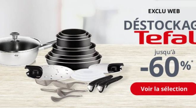 grand destockage Tefal
