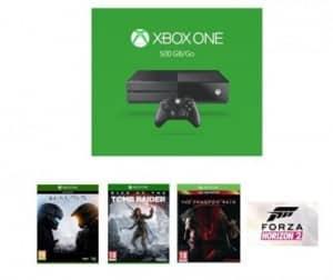 pack Xbox One 500Go – 4 jeux vidéo