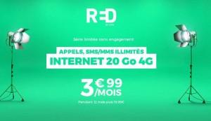 vente RED SFR 20Go sur Showroomprive