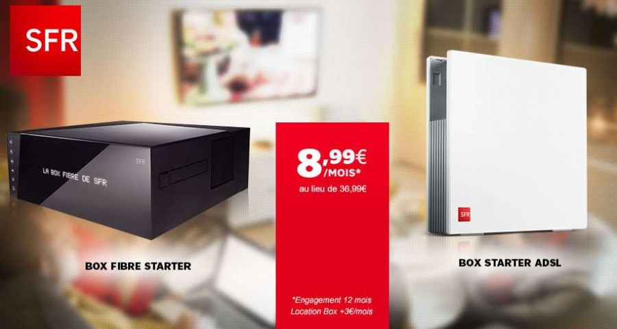 vente privée Box Starter de SFR sur Showroomprivé