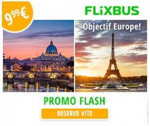 voyage en Europe avec FlixBus