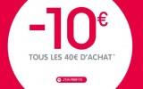 Remise de 10€ par tranche de 40€ sur Oxybul
