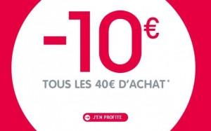 10€ par tranche de 40€ sur Oxybul
