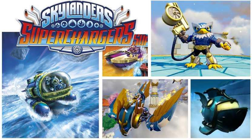 Skylanders superchargers 1 figurine offerte pour 2 - Jeux gratuits skylanders ...