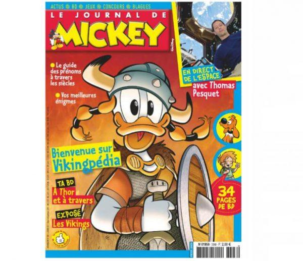 Abonnez-vous pour pas cher au Journal de Mickey