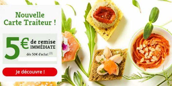 Auchan traiteur code promo