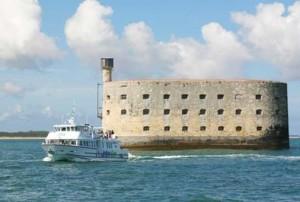 Balade en mer vers Fort Boyard