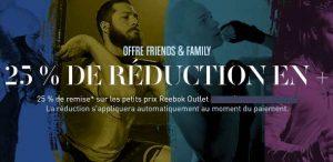 Friends & Family Reebok
