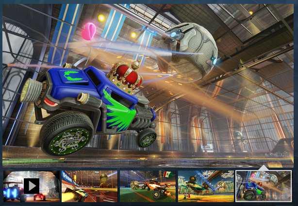 Jouez gratuitement à Rocket League