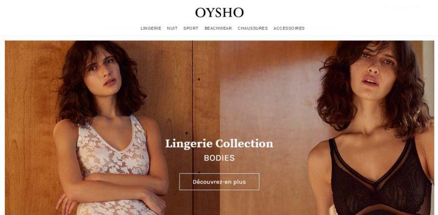 Livraison domicile gratuite sur Oysho