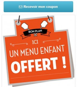 Menu Enfant Offert Tablapizza