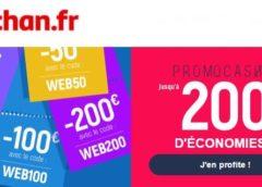 Remise immédiate Auchan : code promo jusqu'à 200€ (10€, 20€, 50€, 100€ ou 200€)