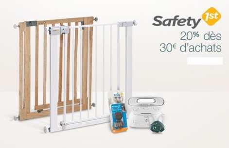 s curit b b safety first 20 de remise d s 30 d 39 achats bons plans malins. Black Bedroom Furniture Sets. Home Design Ideas