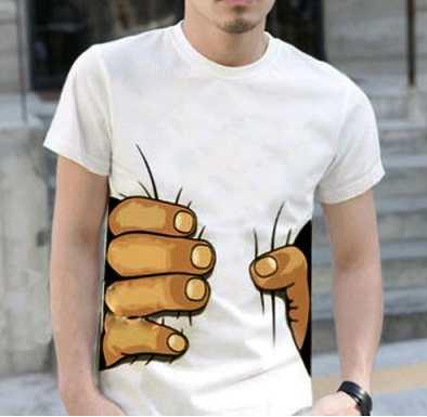t shirt homme fantaisie