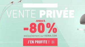 Vente privée Keria
