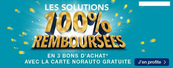 10 articles 100% remboursé chez Norauto