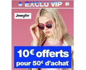 10€ de remises sur Jennyfer