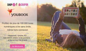 Abonnement lecture illimité Youboox