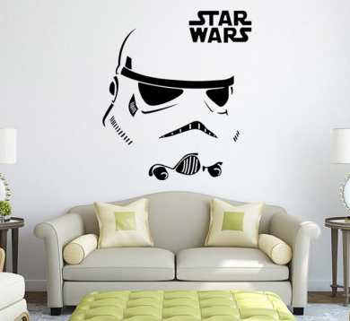 stickers pour mur Stormtrooper