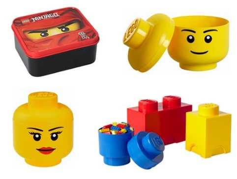 Boites de rangements lego pas ch res partir de 9 98 plusieurs mod les - Tete de rangement lego ...