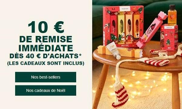 Remise De 10€ Sur Body Shop Des 40€ D'achat