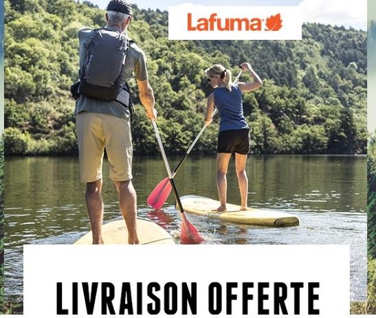 bon plan livraison gratuite Lafuma