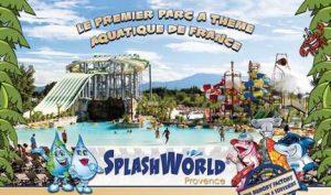 Parc attractions aquatique Spashword Provence pas cher