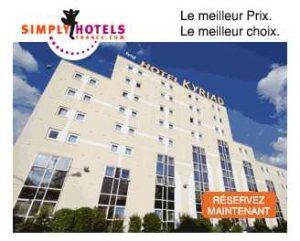 Code promo 40% de réduction sur votre hôtel Simply Hotels