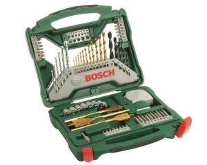 Coffret X-Line Titane Bosch de 70 pieces pas cher