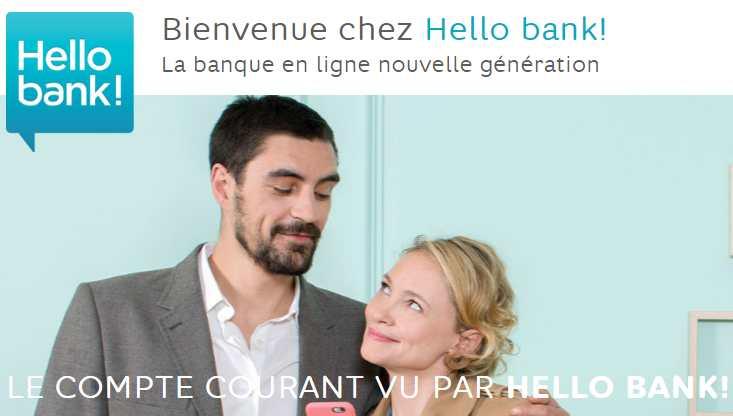 Hello bank ! : 80€ offerts