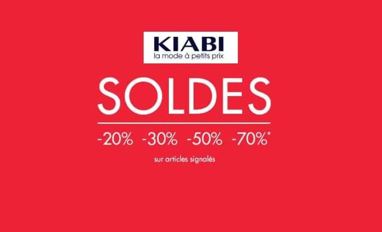 Les soldes d'été Kiabi