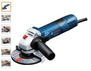Meuleuse angulaire GWS 7-125 Bosch Professional à moins de 55 €