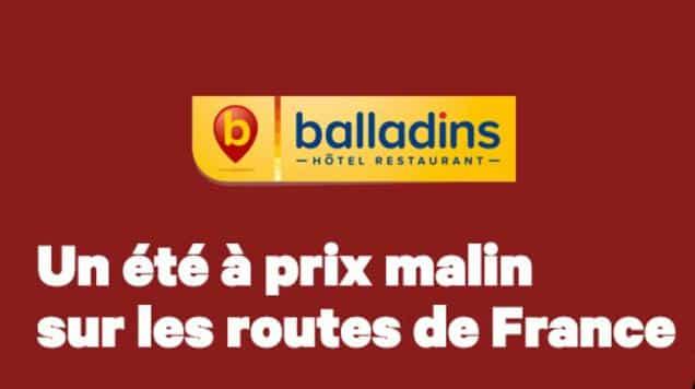 Nuit d'Hotel Balladins pas chère