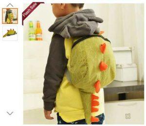Sac à dos dinosaure enfants en vente flash