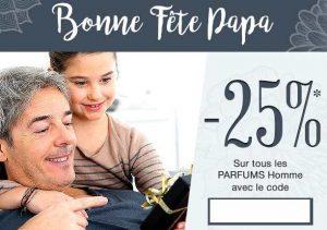 Spécial Fête des Pères parfums homme Comptoir des Parfums