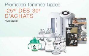 Tommee Tippee : 25% de remise dès 30 euros