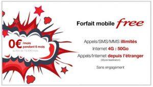 Un forfait mobile gratuit en illimité + 50 Go c'est possible et sans engagement avec Free Mobile
