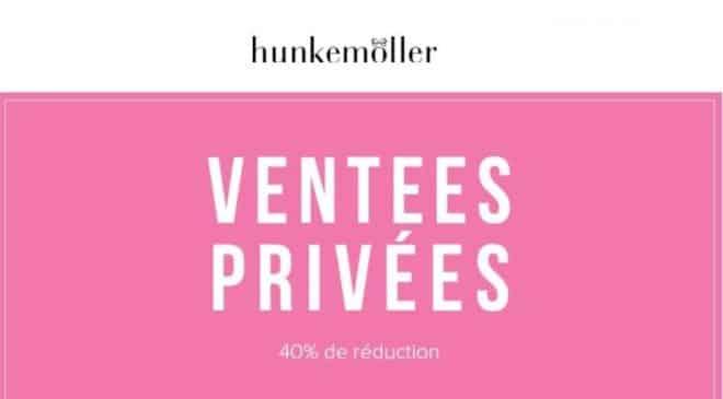 Vente privée Pré-soldes Hunkemöller