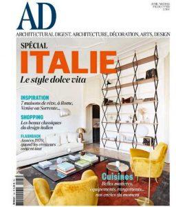 abonnement au magazine AD Architectural Digest pas cher