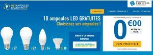 ampoules LED gratuites sur mesampoulesgratuites