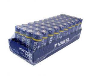 14€ le lot de 40 piles Varta Industrial alcaline AA