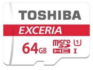 microSDXC Toshiba Exceria 64Go pas chère