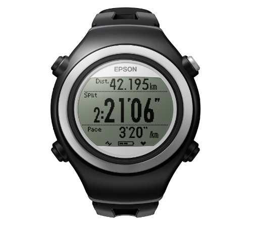 montre GPS Runsense SF-510 Epson en soldes