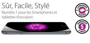 remise sur les smartphones d'occasions de Smartfone Store