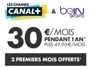 Canal+ les chaines + beIN SPORTS