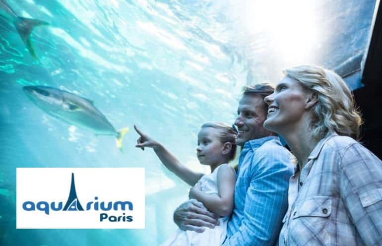 Pass Aquarium de Paris pas cher